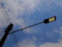 Braço Curvo Galvanizado para Luminária Pública