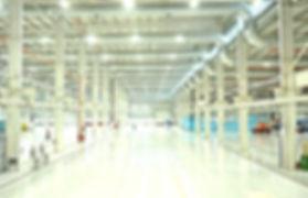 Iluminação Led Industrial Interna - Fábrica
