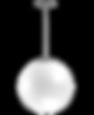 Luminária Decorativa Pendente Globo 38cm