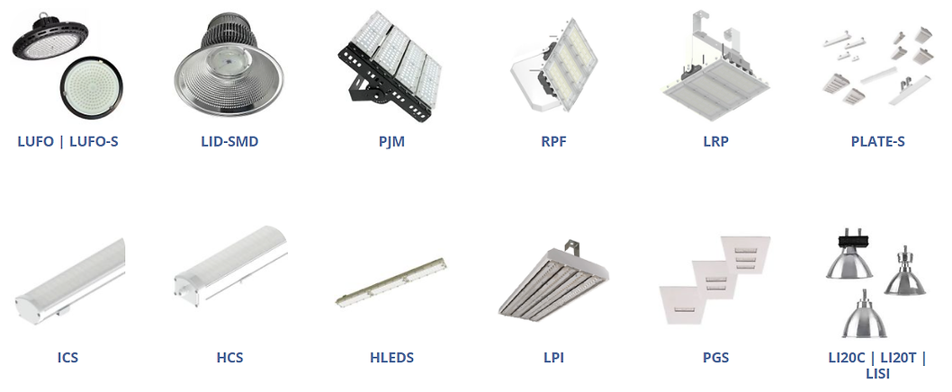 Fabricante e Distribuidor de Luminária Industrial