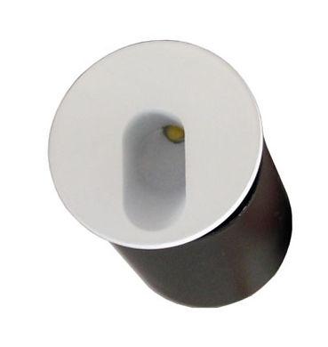 balizador de parede, led 3w, redondo, balizador de parede, balizador, redondo, led, 3w, aluminio injetado, embutir na parede, branco, led cob, fabricante de balizador, embutido de parede, redondo