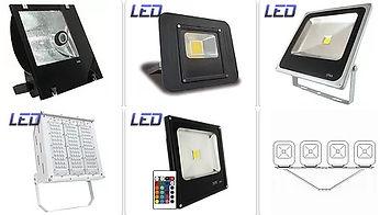Iluminação Externa e Interna para Condomínios - Refletores para áreas externas led ou vapor.