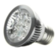 Lâmpada LED PAR 16 com soquete E27 - 4W