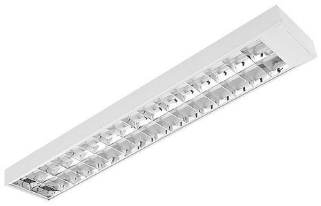Luminária Sobrepor Aleta Parabólica Alumínio