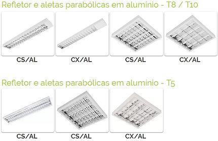 Industria de Fluorescente Sobrepor em São Paulo SP - Ames Iluminação