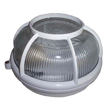 Luminária Tartaruga Sobrepor Plafon com Grade