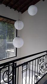 Luminária Decorativa Pendente Globo 50cm