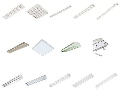 Fabricante e Distribuidor de Luminária Fluorescente, somos fabricantes, importadores e distribuidores de iluminação e lâmpadas fluorescentes comerciais para todo tipo de ambiente. Luminárias com aleta ou refletor parabólico, aleta plana branca de embutir.