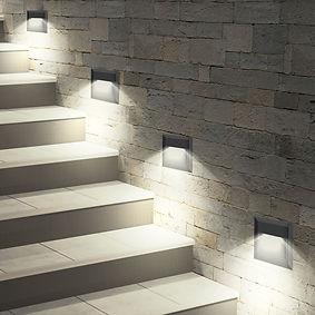 Balizador de Parede para Caixa 4x2 com Luz Indireta