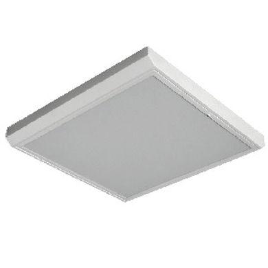 Luminária Quadrada Difusor Acrílico Translúcido ou Transparente
