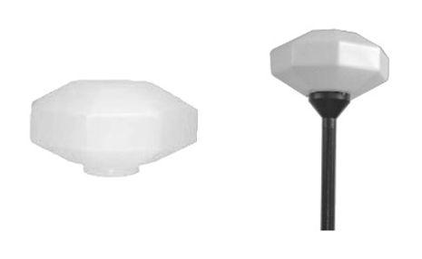Globo de Plástico Decorativo Diamante com Colarinho