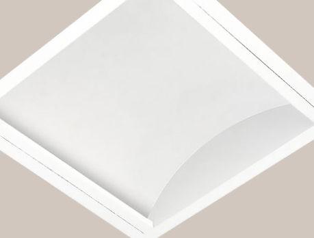 Painel Led 39w 618x618 Iluminação Indireta com led nichia