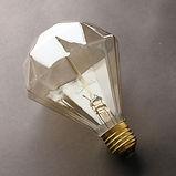 Lâmpada filamento de carbono D95 - Diamante