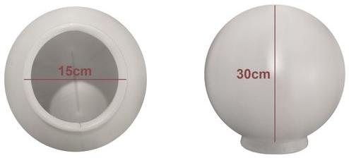 Globo de Plástico 15x30