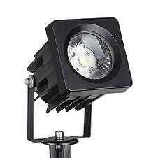 Luminária espeto LED alumínio- 12w