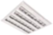 Luminária Quadrada 618x618com Barra de Led 39w