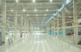 Iluminação Led para Indústria
