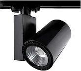 Spot com Adaptador para Trilho Eletrificado - 30w Preto Cob - Imagem 6