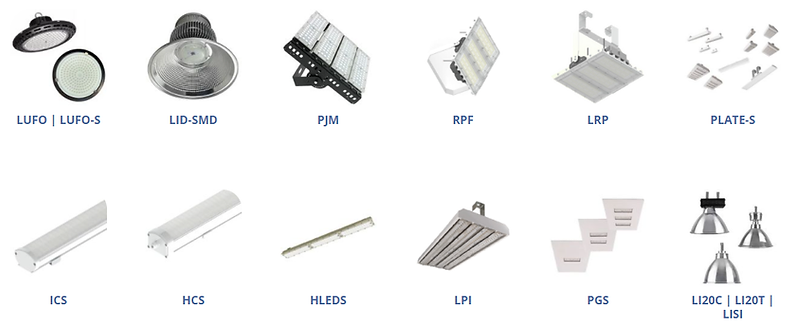 Luminária Industrial Led 100w