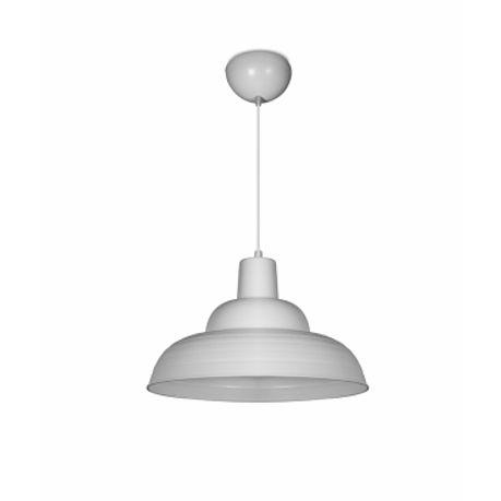 Luminária Pendente Retrô em Alumínio E-27