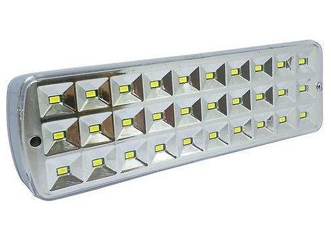 Luminária de emergência com 30 leds,Luminária de emergência 30 leds