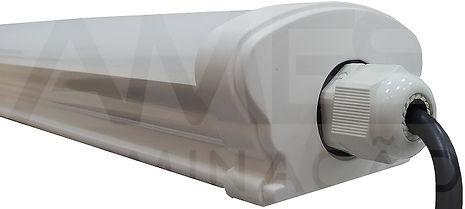 Luminária Hermética IP65 com Placa Led 18w e 32w
