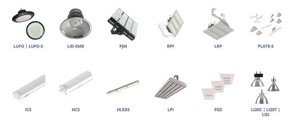 Fabricante e Distribuidor de Luminárias Industriais