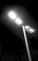 Iluminação para Estacionamento - Poste com luminária street led