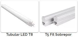Lâmpada de Led em São Paulo SP - TUBULAR T8 LED, TUBULAR T5 LED, LED T5 FIT DE 0,60CM E 1,20CM