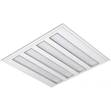 Luminária Quadrada 618x618 Led 39w Difusor Leitoso