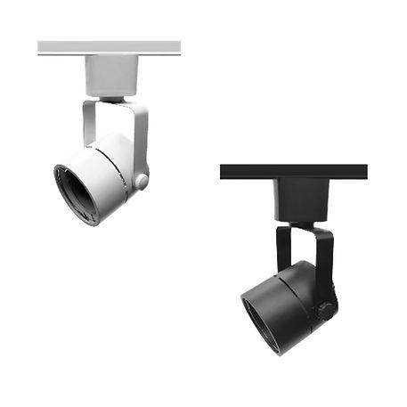 Spot para Trilho com Soquete GU10 para Lâmpada Dicróica LED