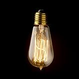 Lâmpada Filamento de Carbono ST58