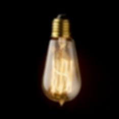 Lâmpada Filamento de Carbono ST58 - Foto 1