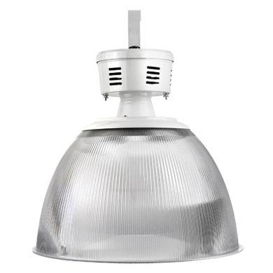Luminária Prismática de Acrílico 16 ou 22 Polegadas com Alojamento para Reator