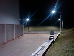 Luminária Pétala Led para Iluminação Pública - Imagem 1 - Ames