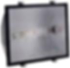 Projetor fechado longo alcance simétrico com refletor alto brilho, alumínio injetado sem alojamento. Lente em vidro plano temperado, soquete E40. IP65    Cor: Preto   1x  Vapor Metálico até 1000w  Comprimento: 510 Profundidade: 250 Altura: 550