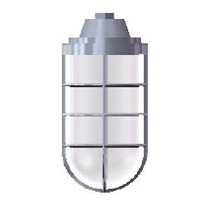 Pendente industrial blindado fabricado em liga de alumínio fundido com proteção IP65