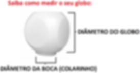 Globo de Plástico Dado com Colarinho saiba como usar: