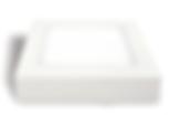 Plafon led sobprepor, fabricado em alumínio com super led de alta iluminância.