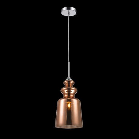 Luminária Pendente Decorativo em Vidro E-27