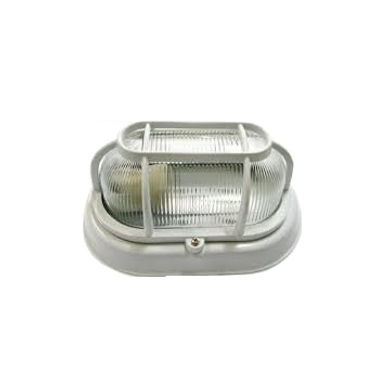Arandela modelo tartaruga fabricada em alumínio injetado e difusor em vidro prismático. Soquete E-27. Cores branca ou preta
