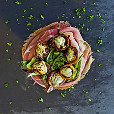 Figs Salad with Prosciutto di Parma