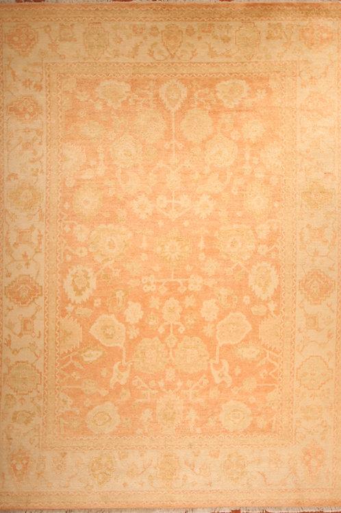 Wool Indo Oushak Rug | 8.10 X 12.2