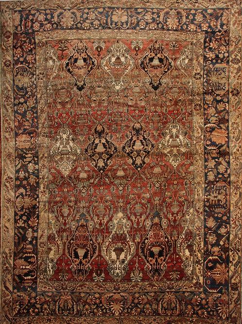 Antique Persian Rug Bakhtiari | 12 x 16.3