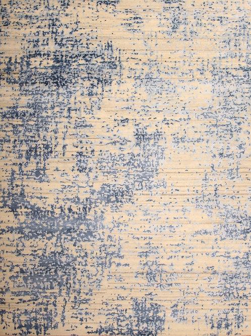 Wool & Viscose Indian Rug | 8.0 X 10.0