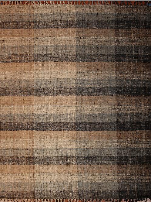 Handmade 100% Indian Jute Flat Weave Rug | 8.5 X 10