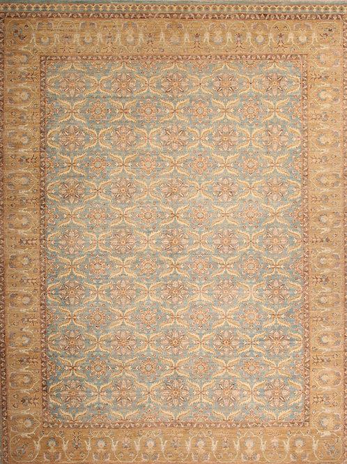 Wool Fine Pakistani Rug   9.2 X 11.6