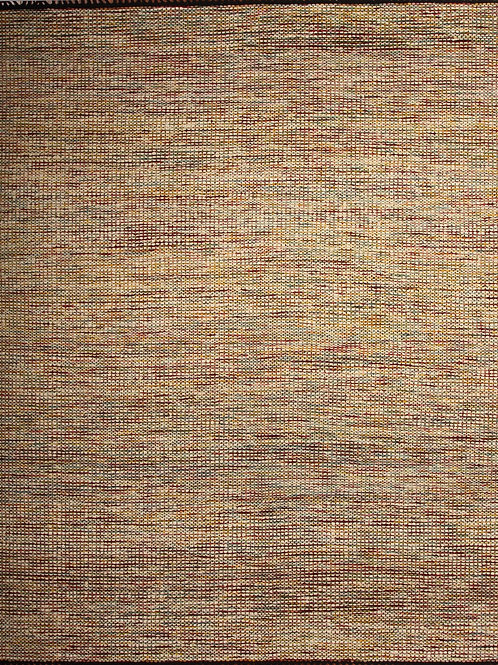 Indian Rug Jute and Wool Durrie | 8 X10