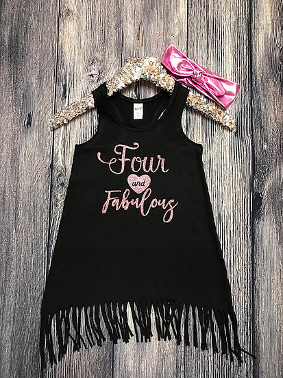 Fringe Dress | Four and Fabulous