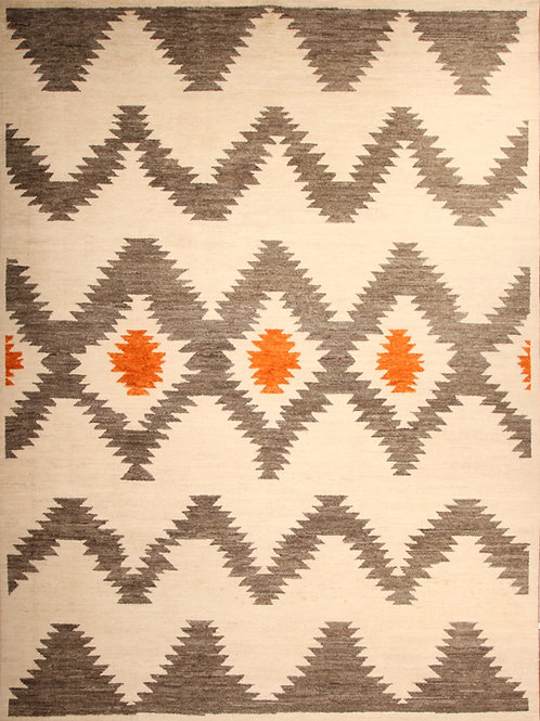 Wool Pak Moroccan   9.4 X 12.8